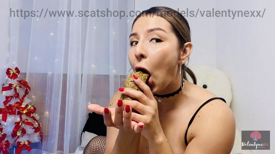 Eat Shit: (Valentynexx) - Licking my hard poo! [FullHD 1080p] - Brazil, Solo