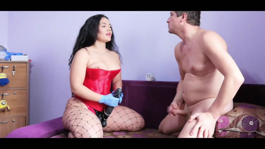 BDSM: (GoddessAndreea) - Kytana Gyulia and friend strapon and diarrhea [FullHD 1080p] - Strapon, Humiliation